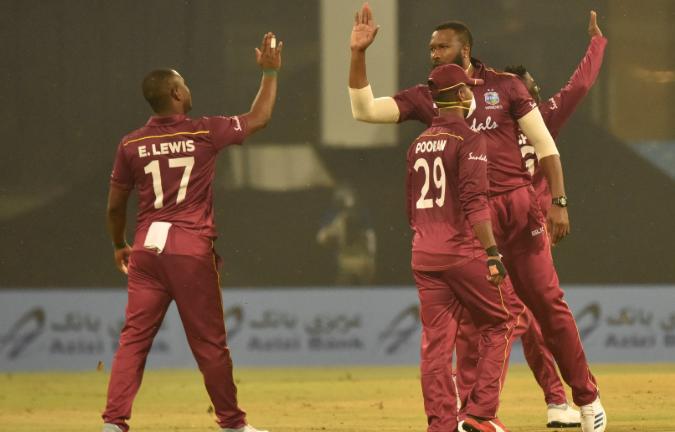 AFGvWI, दूसरा वनडे: अफगानिस्तान को 47 रनों से हराकर वेस्टइंडीज ने सीरीज में बनाई अजेय बढ़त 5