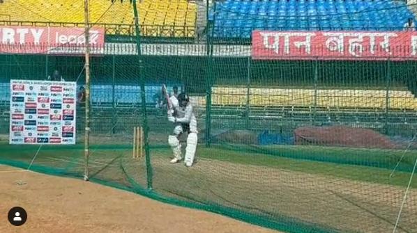 वीडियो: भूटान से वापस आने के बाद नेट्स में विराट कोहली ने सभी गेंदबाजों को थकाया, लगाए अद्भुत शॉट्स 3