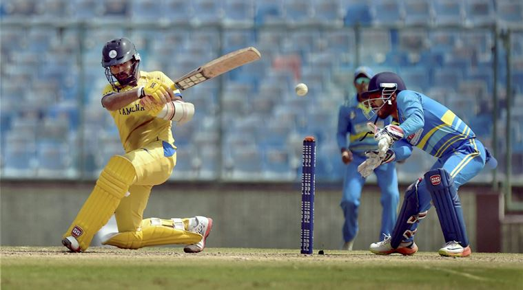 सैयद मुश्ताक अली ट्रॉफी : वाशिंगटन सुंदर बल्ले-गेंद दोनों से चमके, शुभमन गिल और दिनेश कार्तिक फ्लॉप 13