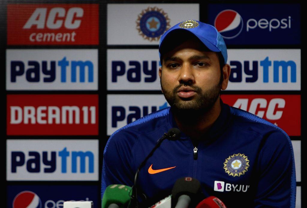 'मुझे खराब शॉट खेलने का कोई अफसोस नहीं है' : रोहित शर्मा 1