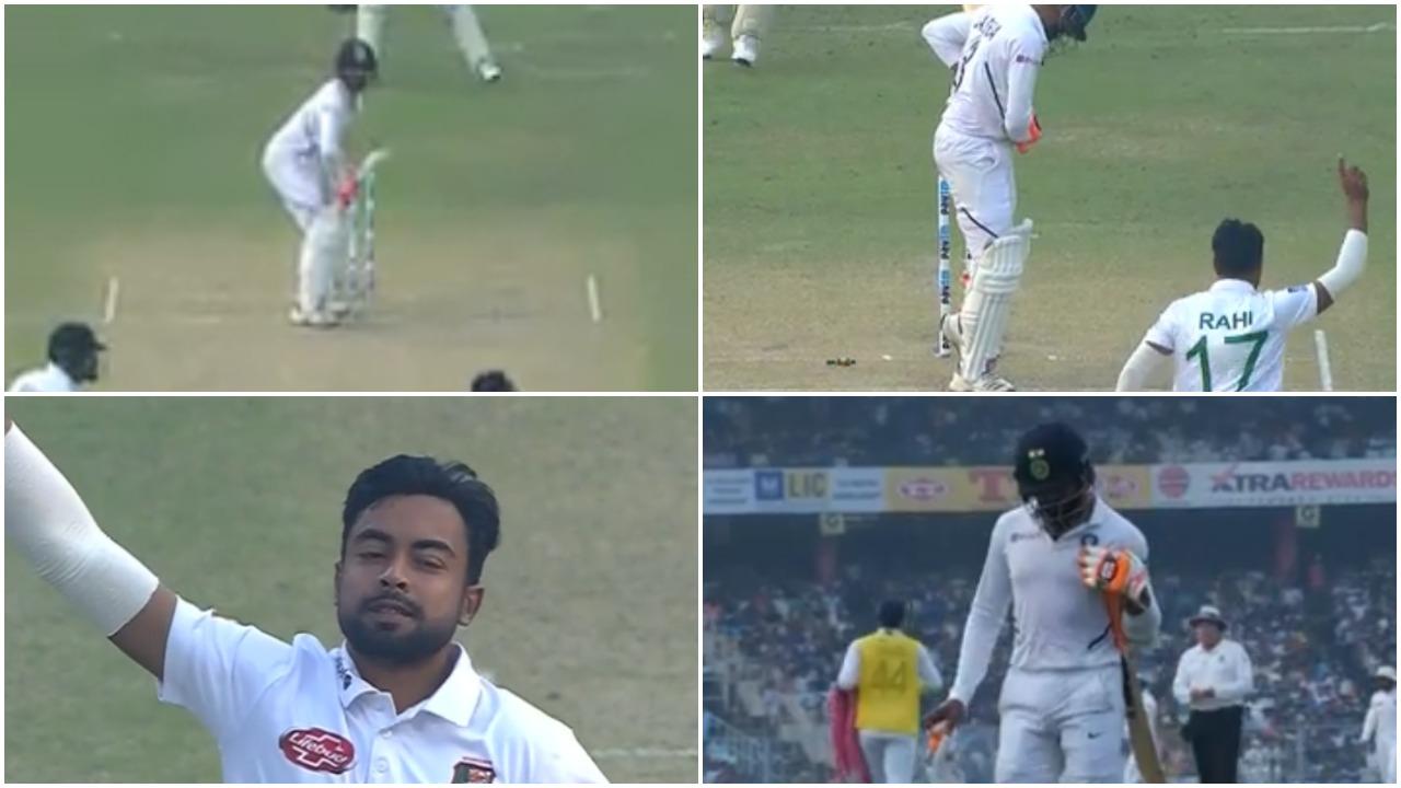 वीडियो : पिंक बॉल की स्विंग नहीं समझ पाए रविन्द्र जडेजा, बॉल छोड़कर हुए बोल्ड 4
