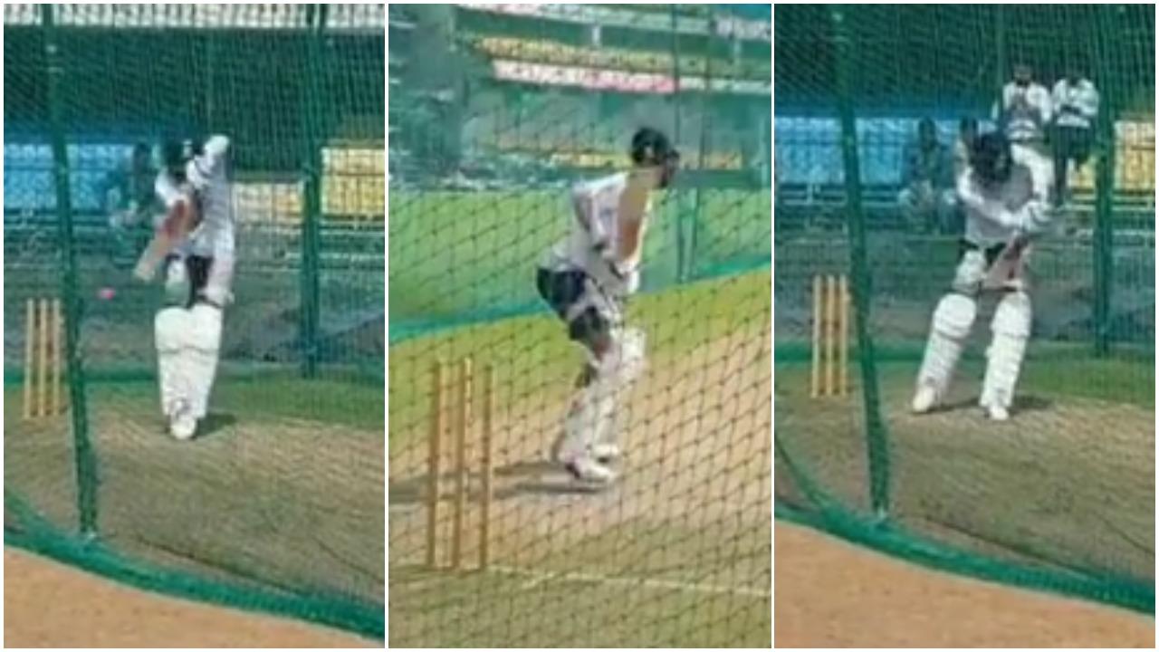 वीडियो: भूटान से वापस आने के बाद नेट्स में विराट कोहली ने सभी गेंदबाजों को थकाया, लगाए अद्भुत शॉट्स 1