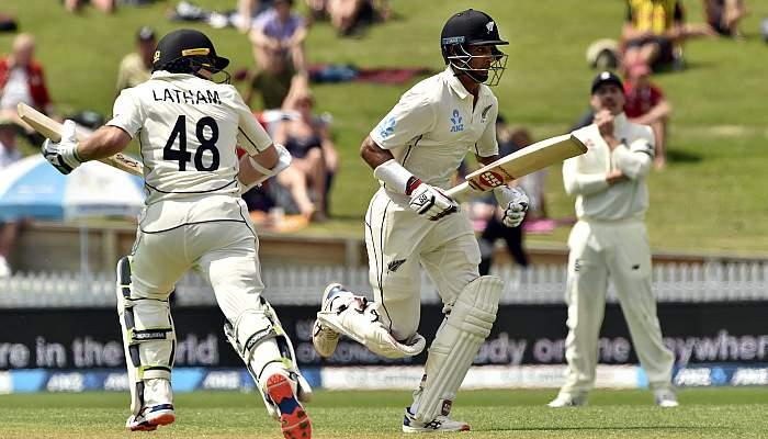 NZ vs ENG : दूसरे टेस्ट मैच में बारिश के बीच टॉम लाथम का शतक, ऐसा रहा पहले दिन का हाल 3