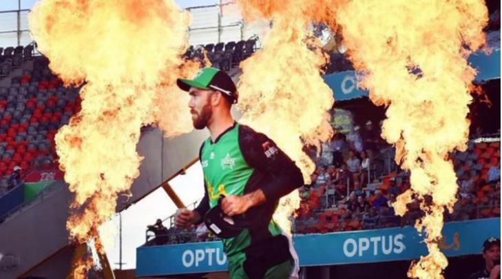 VIDEO : मैच से पहले स्टेडियम के बाहर लगी आग, हीरो बन बुझाने कूद पड़े मैक्सवेल 9