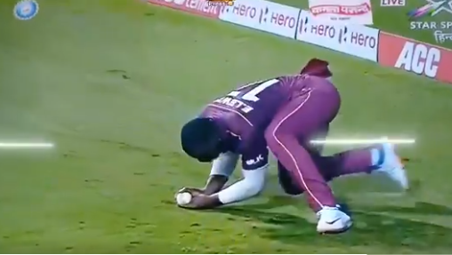 IND vs WI- मैच के दौरान एविन लुईस के घुटने में लगी गंभीर चोट, वनडे सीरीज में खेलने पर संशय 2