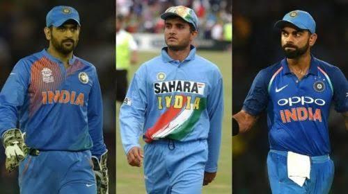 सौरव गांगुली, महेन्द्र सिंह धोनी और विराट कोहली में से कौन है भारत का सबसे बेहतर कप्तान, आंकड़े हैं गवाह 1