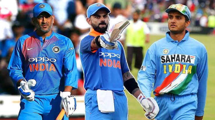 सौरव गांगुली, महेन्द्र सिंह धोनी और विराट कोहली में से कौन है भारत का सबसे बेहतर कप्तान, आंकड़े हैं गवाह 2