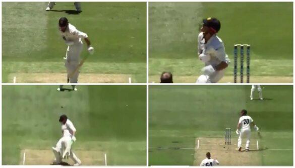 वीडियो : खराब पिच की वजह से बीच में रोका गया मैच, बल्लेबाज कुछ इस तरह हो रहे थे चोटिल 24