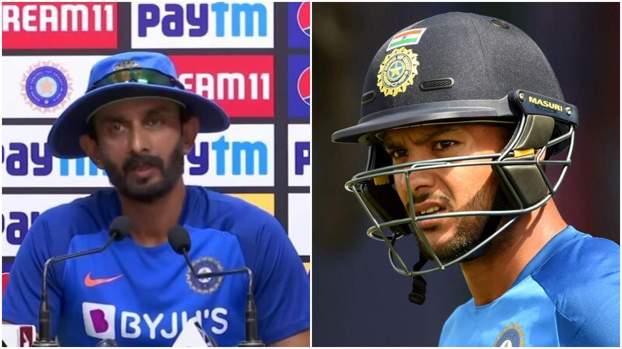 IND vs WI : क्या मयंक अग्रवाल को मिलेगा डेब्यू का मौका? बल्लेबाजी कोच विक्रम राठौर ने दिया जवाब 5