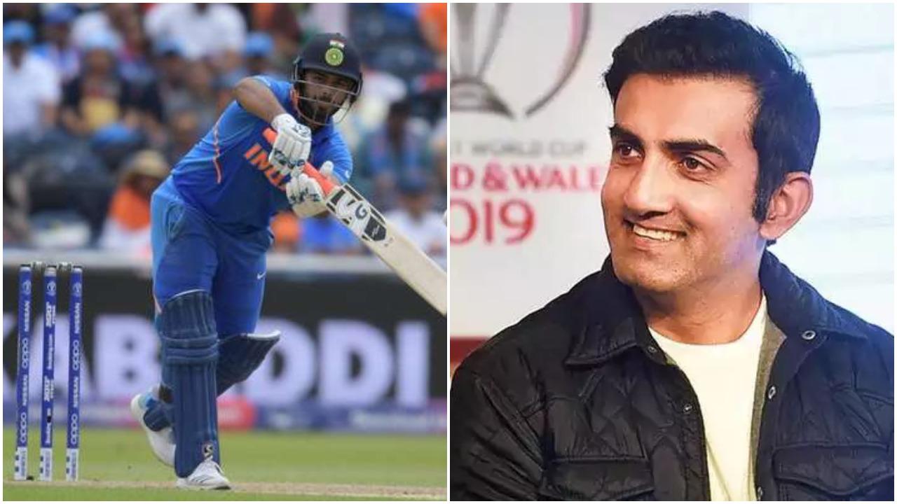 ऋषभ पंत के 71 रनों की पारी के बावजूद गौतम गंभीर को है विकेटकीपर से ये शिकायत 2
