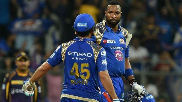 उनकी कप्तानी में वेस्टइंडीज अलग टीम हो जाती है, अपने आईपीएल साथी कीरोन पोलार्ड के बारे में रोहित शर्मा