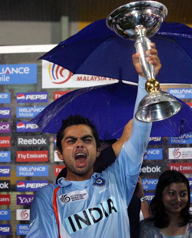 विश्व क्रिकेट के चार वो दिग्गज खिलाड़ी जो अंडर-19 विश्व कप जीतने के बाद जीते सीनियर विश्व कप 5