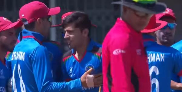 वीडियो : अफगानिस्तान को मिला तूफानी तेज गेंदबाज, गेंद लगने पर 7-8 गज पीछे जाता है स्टंप 4