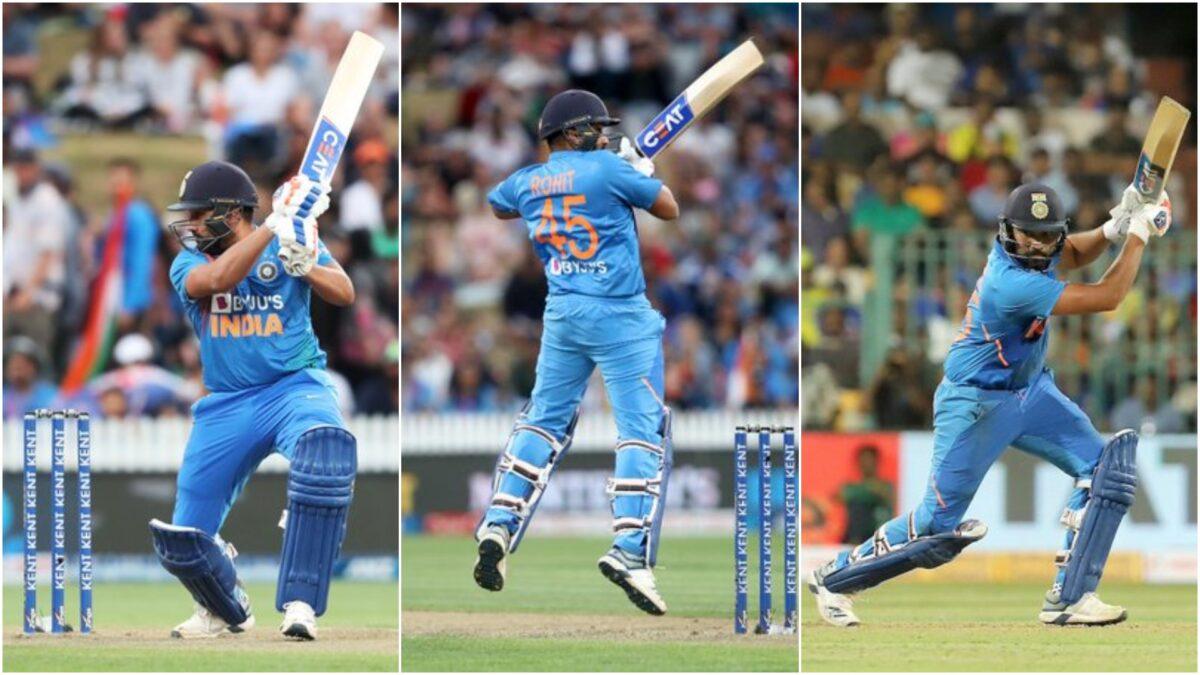 NZ vs IND: तीसरे मैच के दौरान मात्र 5 गेंदों में रोहित शर्मा ने बनाये ताबड़तोड़ 26 रन, वीडियो हुई वायरल