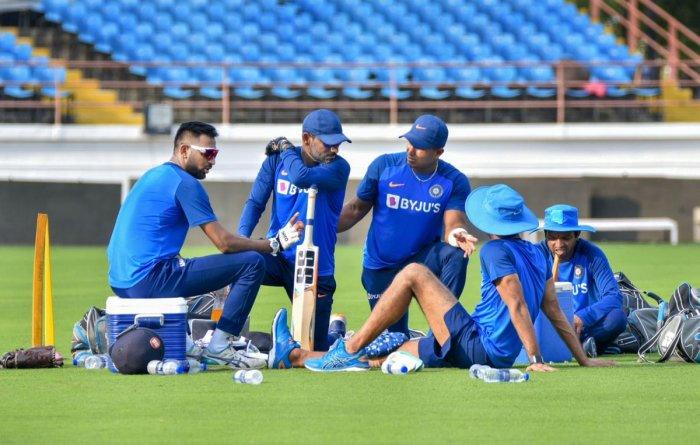 न्यूजीलैंड के खिलाफ तीसरे टी20 मैच से पहले भारतीय टीम ने किया अलग ढंग से अभ्यास, देखें वीडियो 1