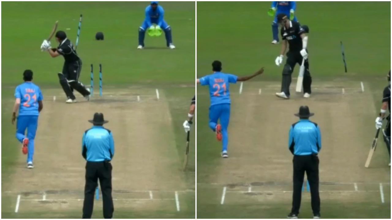 मोहम्मद सिराज ने न्यूज़ीलैंड के खिलाफ एक बार नहीं बल्कि 2-2 बार हवा में उखाड़ फेंका स्टंप, देखें वीडियो 12