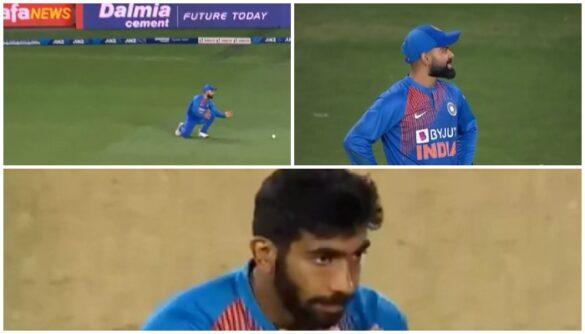 वीडियो : विराट कोहली से दूसरे टी-20 में छुटा बेहद आसान कैच, देखने लायक थी जसप्रीत बुमराह की प्रतिक्रिया 7