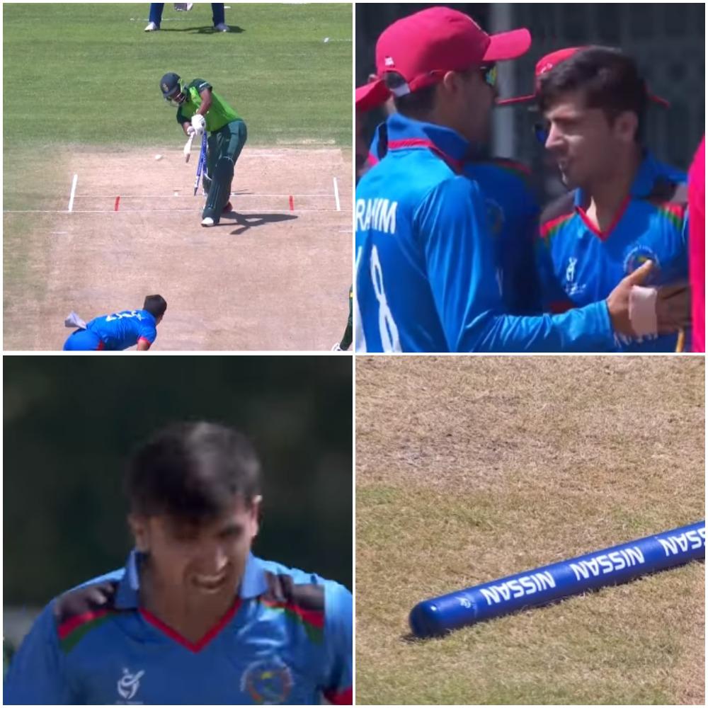 वीडियो : अफगानिस्तान को मिला तूफानी तेज गेंदबाज, गेंद लगने पर 7-8 गज पीछे जाता है स्टंप 7