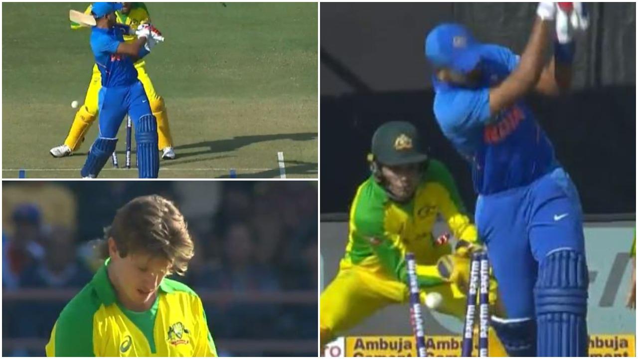 एडम जम्पा ने शानदार गेंद पर श्रेयस अय्यर को किया बोल्ड, यहाँ देखें वीडियो 10
