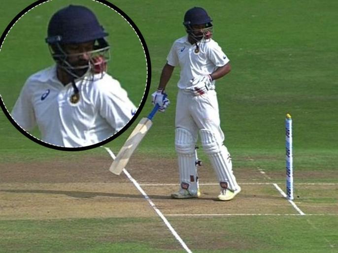 वीडियो: रणजी ट्रॉफी मैच के दौरान गेंदबाज ने डाली जानलेवा गेंद, बल्लेबाज को लगते ही मैदान में दौड़ पड़े फिजियो और खिलाड़ी 1