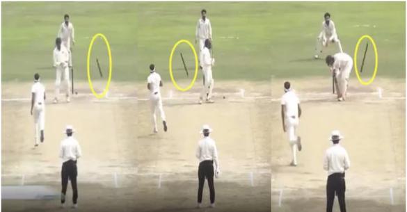 वीडियो- रणजी के रण में सिद्धार्थ कौल की जबरदस्त हैट्रिक, आखिरी तीनों बल्लेबाजों को ऐसा किया बोल्ड 1