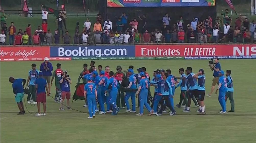 कार्तिक त्यागी ने बताया ऐसा क्या बोला बांग्लादेश ने जो हाथापाई पर उतर आए भारतीय खिलाड़ी 1