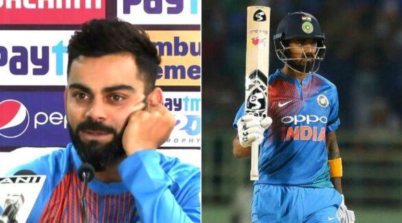 विराट कोहली ने की केएल राहुल को ट्रोल करने की कोशिश, लेकिन किंग्स इलेवन पंजाब के कप्तान ने दिया जवाब 22