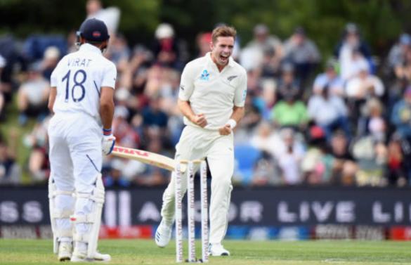 NZ vs IND 2nd Test: पहली पारी में टीम इंडिया ने बनाए 242 रन, पहले दिन के अंत में 63 रन पर रही न्यूजीलैंड 25