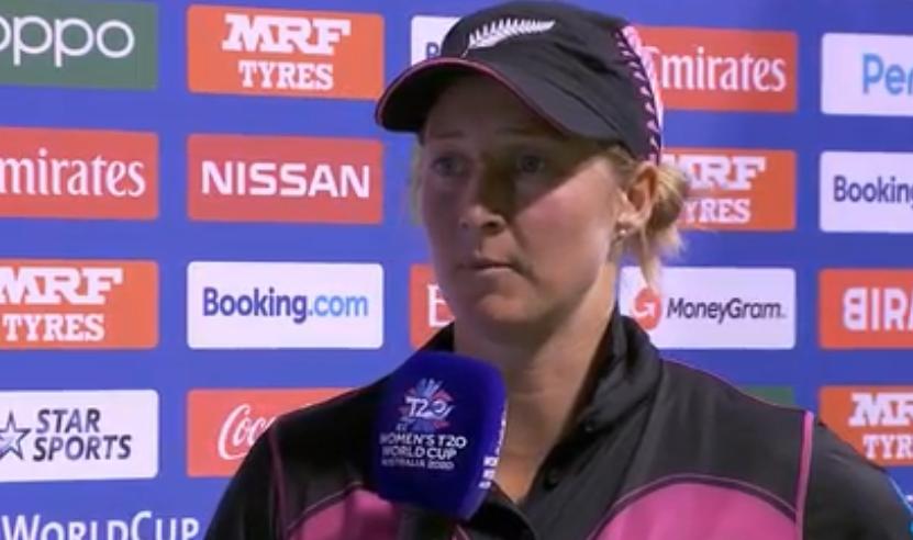 भारत के खिलाफ हार के बावजूद न्यूजीलैंड की कप्तान सोफी डिवाइन ने अपने खिलाड़ियों को सराहा 8