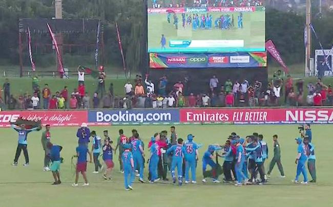 अंडर-19 विश्व कप 2020: बांग्लादेशी खिलाड़ियों ने बताया, जीत के बाद क्यों मनाया ऐसा जश्न की हो गई लड़ाई 4