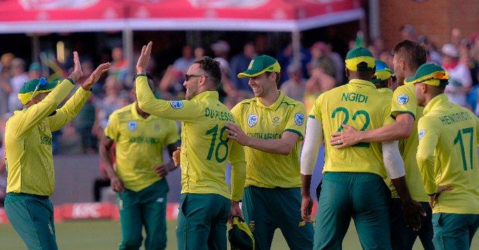 साउथ अफ्रीका ने दूसरे टी-20 मैच में ऑस्ट्रेलिया को 12 रन से हराया