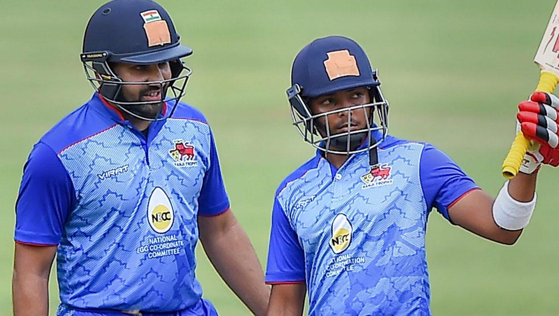 3 रिकॉर्ड जो घरेलू क्रिकेट में भारतीय सलामी बल्लेबाज हिटमैन रोहित शर्मा के नाम हैं दर्ज 1
