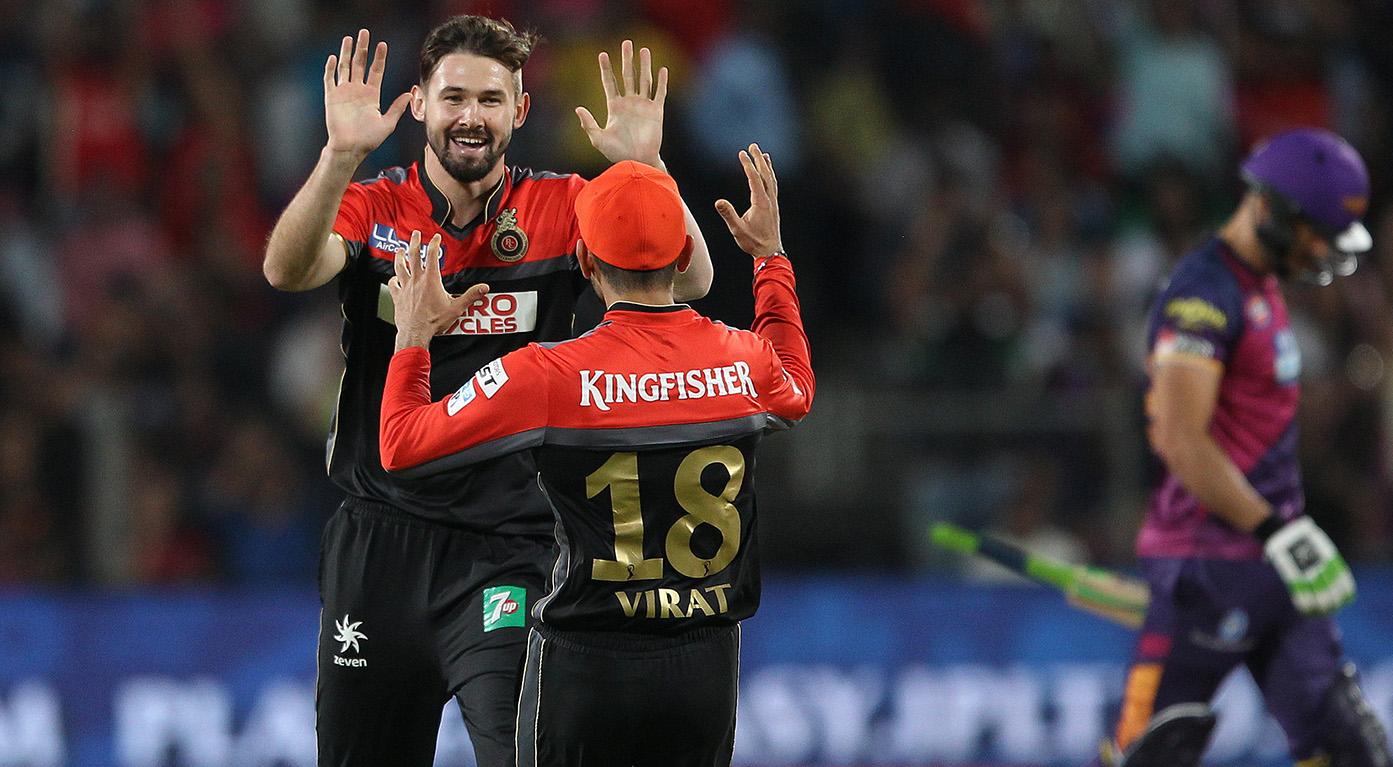ब्रेकिंग न्यूज: रॉयल चैलेंजर्स बैंगलौर के खिलाड़ी रिचर्डसन में दिखे कोरोना वायरस के लक्षण, होगा टेस्ट 11