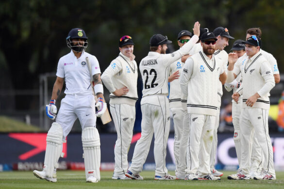 NZ vs IND, दूसरा टेस्ट: दूसरे दिन बने कई रिकॉर्ड, विराट कोहली के नाम शर्मनाक आंकड़े दर्ज 19