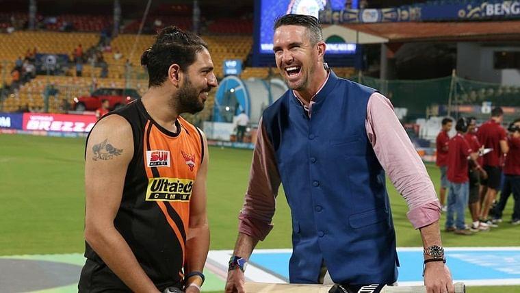 केविन पीटरसन को उनकी ही तस्वीर पर युवराज सिंह ने किया ट्रोल