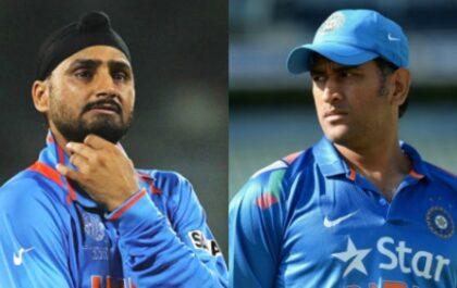 """""""धोनी भारत के लिए खेल लिया है अपना अंतिम मैच"""" हरभजन सिंह ने माही के संन्यास पर खत्म किया बहस 5"""