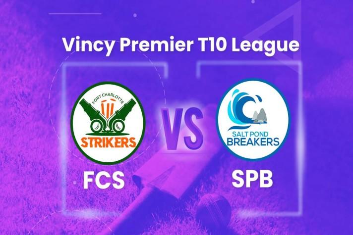 विंसी प्रीमियर टी-10 लीग : साल्ट पोंड ब्रेकर्स ने फोर्ट चार्लोट स्ट्राइकर्स को 20 रन से हराया