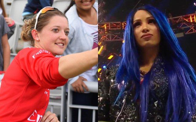 विश्व की 5 महिला क्रिकेटर्स जो हैं WWE की रैसलर्स के समकक्ष 7