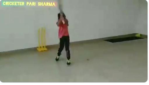 WATCH : धोनी के तरह हेलीकॉप्ट शॉट खेल रही ये नन्ही बच्ची, खुद पूनम यादव ने शेयर किया वीडियो 29
