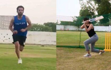 दीपक चाहर अपनी बहन मालती चाहर को कर रहे थे नेट्स में गेंदबाजी, तभी आया ये ट्विस्ट, देखें वीडियो 2