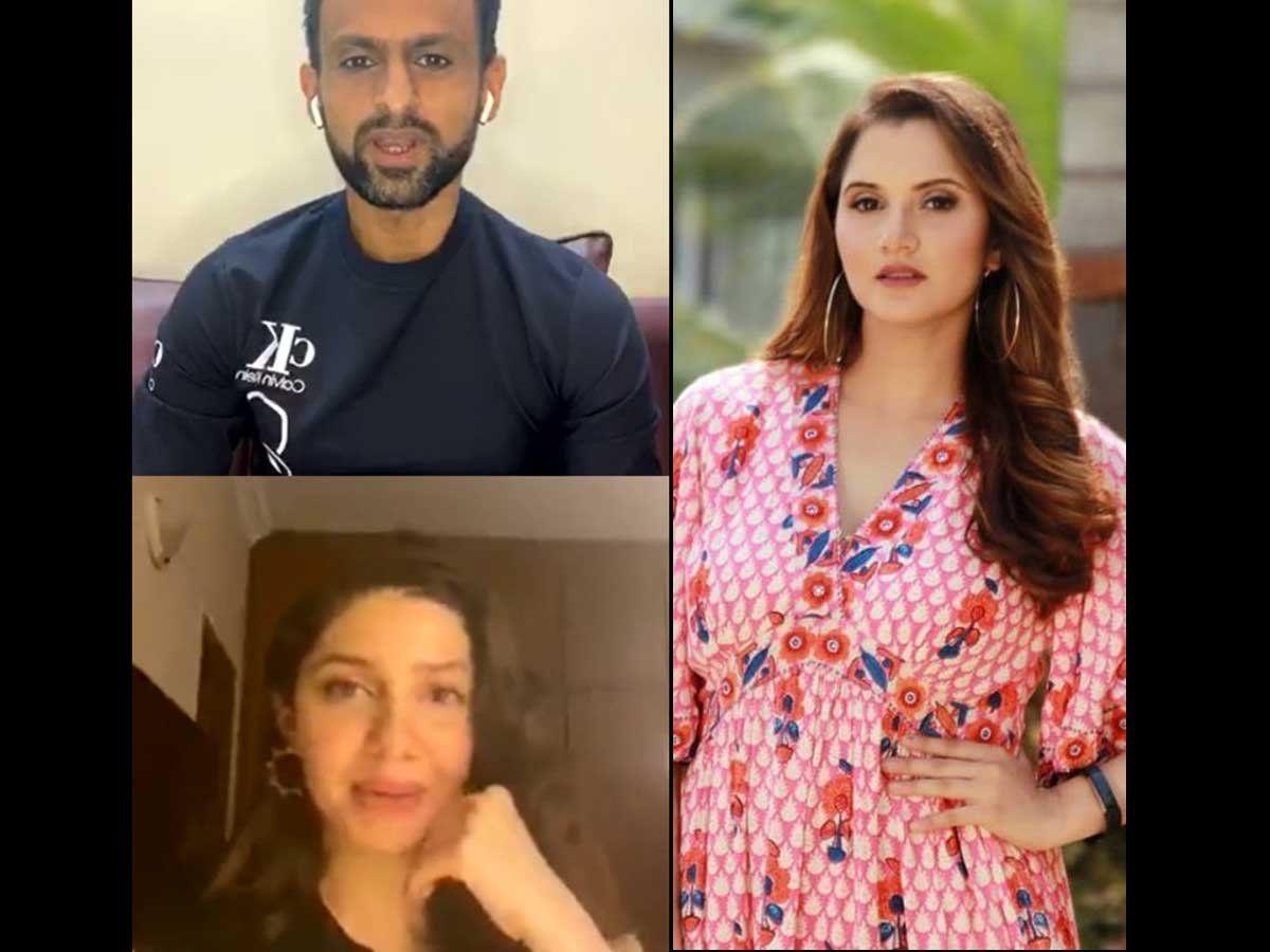 एक्ट्रेस माहिर खान के साथ शोएब मलिक को देखकर सानिया मिर्जा ने दिया ये रिएक्शन 4
