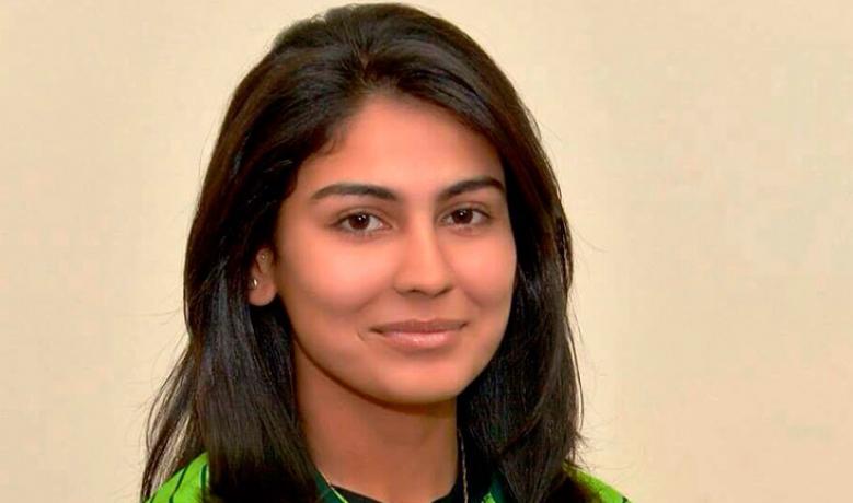 खूबसूरती के कारण चर्चा में रहने वाली ये पाकिस्तानी खिलाड़ी इस भारतीय को मानती अपना आदर्श 2