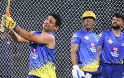 """""""सिंगल तो तू ले लेगा पर उसके बाद मारना पड़ेगा"""" पियूष चावला ने बताया कैसे धोनी उनकी बल्लेबाजी का बनाते थे मजाक 1"""