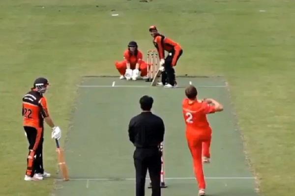 पति की गेंद पर पत्नी ने की विकेटकीपिंग, पहली बार क्रिकेट में दिखा ये अजीबोगरीब नजारा 5