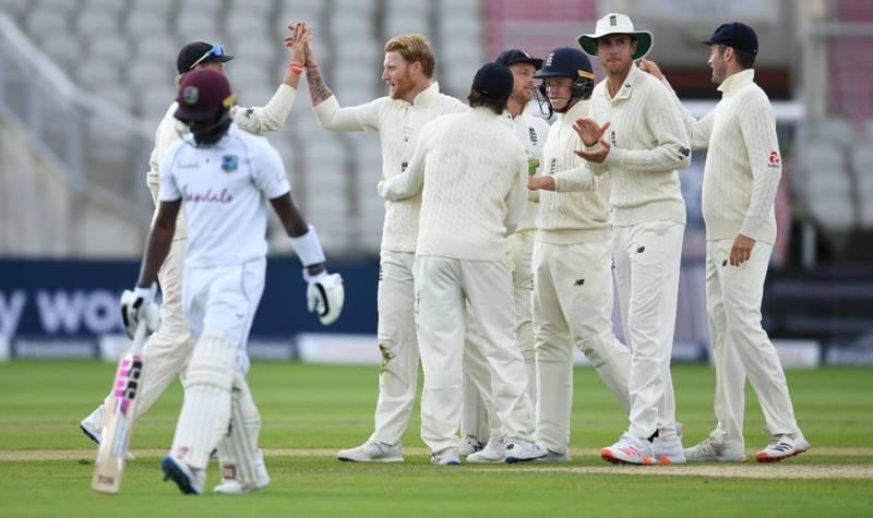 ENG vs WI- मैनचेस्टर में खेले जा रहे तीसरे टेस्ट मैच में इंग्लैंड ने की जीत की तैयारी, वेस्टइंडीज पर मंडराया हार का खतरा 1