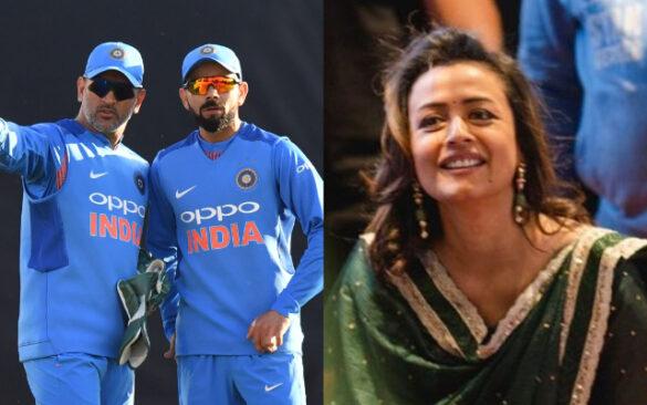 बॉलीवुड एक्ट्रेस नम्रता शिरोडकर ने महेंद्र सिंह धोनी के अलावा इस खिलाड़ी को बताया अपना फेवरेट 1