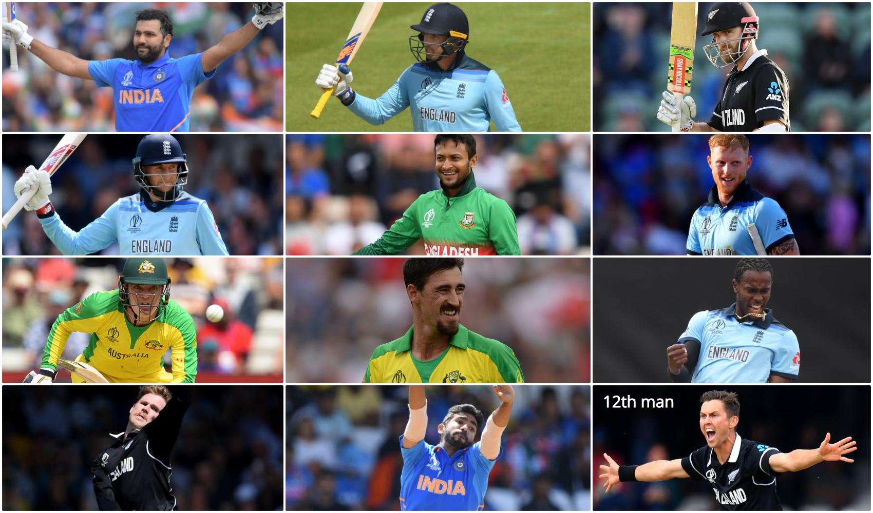 आईसीसी ने विश्व कप 2019 के एक साल पूरे होने पर चुनी टीम ऑफ द टूर्नामेंट, भारत के इन दो खिलाड़ियों को दी जगह 1