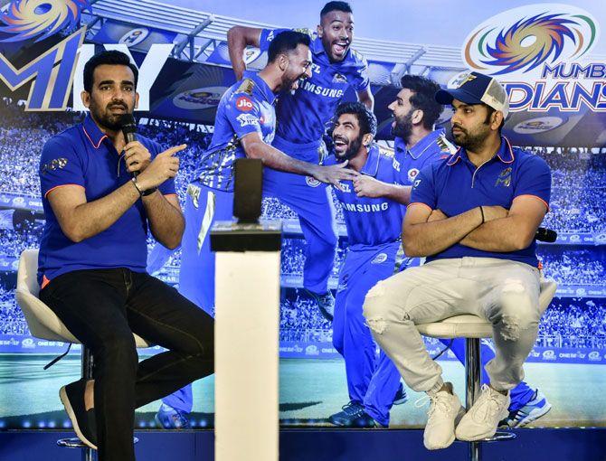 मुंबई इंडियंस के निदेशक जहीर खान ने बताया बतौर कप्तान रोहित शर्मा की सफलता का राज 8