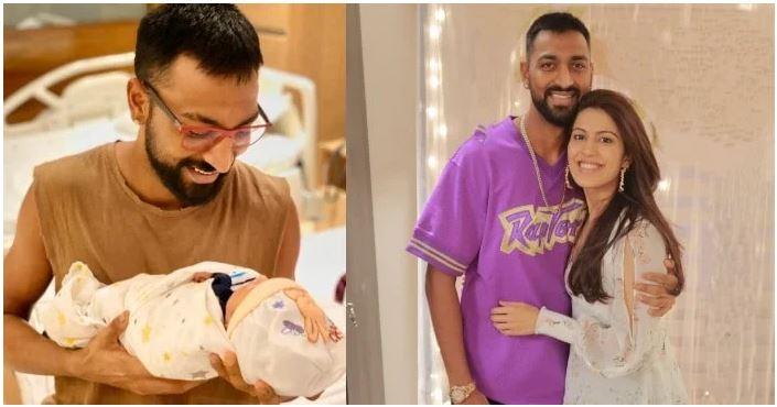 हार्दिक पांड्या के बेटे के जन्म पर बड़े पापा क्रुनाल ने किया इमोशनल पोस्ट 1