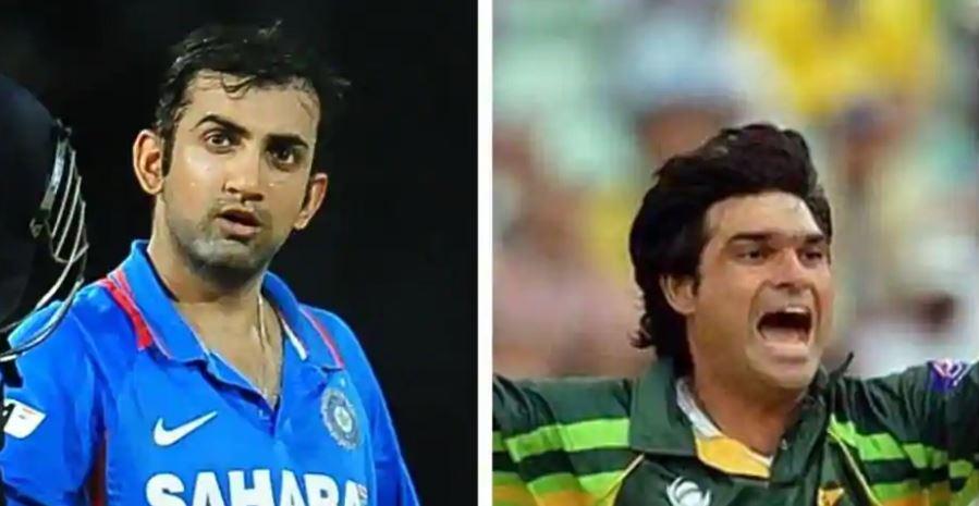 इस पाकिस्तानी गेंदबाज ने कहा, गौतम गंभीर मेरी गेंद भी नहीं देख पाता था 2